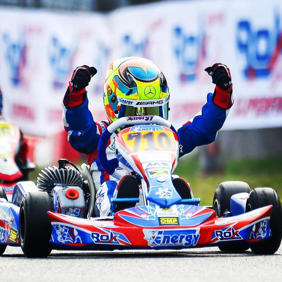 Alex Powell Karting Wins The 2019 Rok Superfinal in Italy